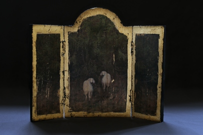 Shepherd´s Call - Small triptych